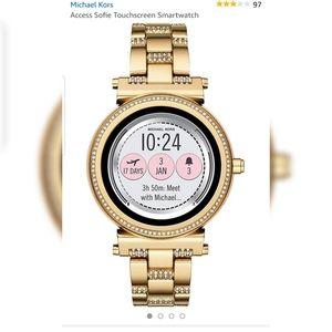 Michael Kors Sofie Smart Watch New With Box